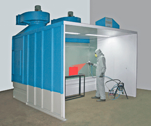 DynaSpary - Water Wash Paint Booth